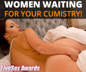 Women waiting for your cumistry!
