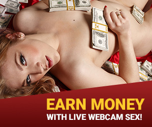 Earn Money with Live webcam model sex!